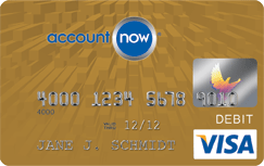 Apply for AccountNow Gold Visa Prepaid Card