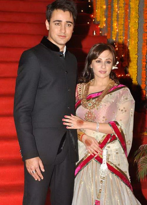 Avantika Malik and Imran Khan Wedding Photos Reception of Marriage Pictures
