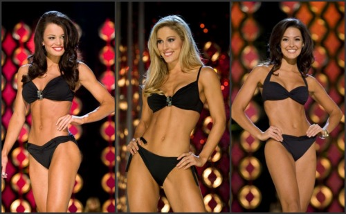 Miss America 2011 Contestants Swimsuit Competition Photos