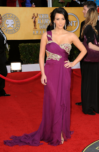 Screen Actors Guild (SAG) Awards 2011 Red Carpet Fashion Photos